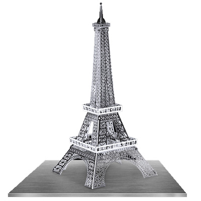 774344-Metal Earth  Eiffel Tower Puzzler