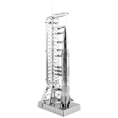 774580-Metal Earth Apollo Saturn V with Gantry