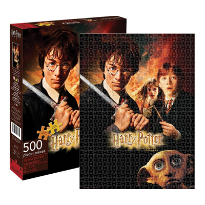 778061-Harry Potter Chamber of Secrets Puzzle (500-Piece)