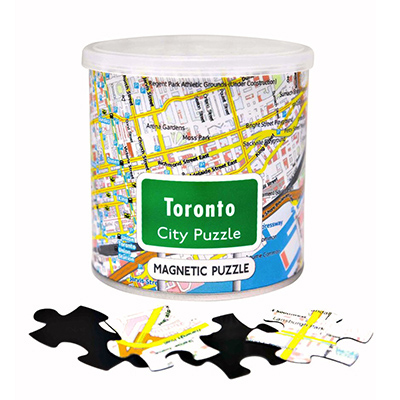 778860-City of Toronto 100 Piece Magnetic Puzzle