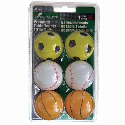 F g bradley 39 s balls 1 star assorted sport table for 1 star table tennis balls