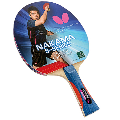 800289-Butterfly Nakama S-8 Table Tennis Racket