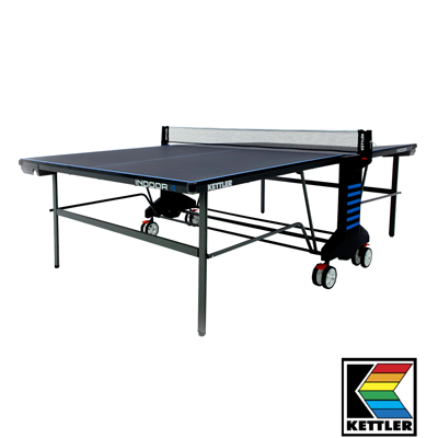 840024-Kettler Indoor 4 Grey Table Tennis Table