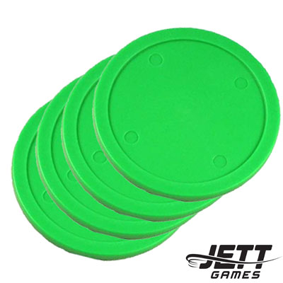850003-82 mm Commercial Air Hockey Puck - 4 Pack