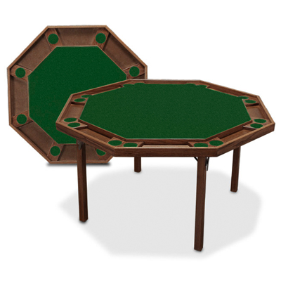 F g bradley 39 s poker tables game furniture kestell for 52 folding table