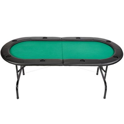 F g bradley 39 s poker tables game furniture 7ft for 10 person folding poker table